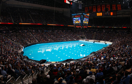 H2x extreme water show coming september 26 2015 for Extreme pool show